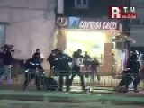 Bucharest Riots-POLICE BRUTALITY