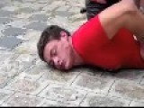 Brazilian Phys. Ed Student Has A Nervous Breakdown