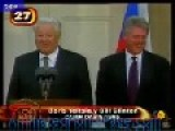 Boris Yeltsin Farting Makes Clinton Laugh