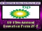 Bp Holdings Global Barcelona Spain L BP Files Annual Report On Form 20-F