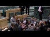 Boxing In Parliament In Jordan