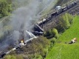 Belgium Train Crash With Chemical Fire