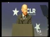 Biden's Awkward Sex Joke At About His Parents