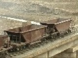 Bleak North Korean Narrow Gauge Workings