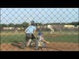 Baseball Umpire Gets Nailed In The Balls