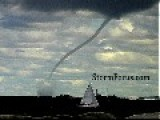 Big Waterspout Over Cleveland