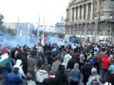 Budapest Protesters Commandeer A T-34