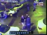 Brawl Resumes After Guy Is Slammed By Speeding Car