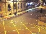 Brutal Hit And Run Manchester City Centre England UK