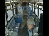 CCTV Nebraska Bus Driver's Brutal Assault Of Passenger