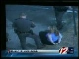 Cop On Trial For Kicking Woman In The Face