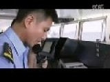 Chinese Sea Survilliance Ship VS Vietnamese Navy Boat