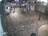 CCTV : Sucker Punch K.O Leaves Man Face Down On The Street