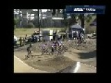 Crazy BMX Racing Crash