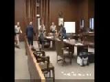 Courtroom Video – Man Tries To Kill Brother In Law Suspected Of Murdering His Sister