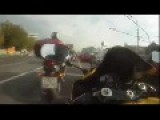 Crazy Russian Motorcycle Rider