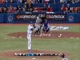 Chad Jenkins Taking An Amazing Baseball Catch