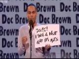 Comedian Doc Browns Rap 101