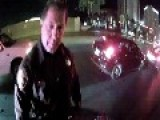 Cop Rear Ends A Motorcycle, Then Blames The Rider!