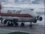Classic Boeing 747-200 Snow Plow Departure - Full 1080p HD