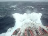 Cruise Ship Cought In Storm In South Africa