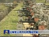 Chinese Snipers Shooting Drill