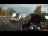 Crazy Russia Motorcycle Driver!