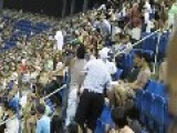 Crazy Fight At US Open Spectator Fight At Arthur Ashe Stadium