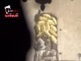 Close Quarters Firefight Between Free Syrian Army Sniper And SAA Militia Men