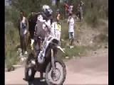 Dakar 2013: One Seriously Slippery Corner