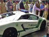 Dubai Police Adds Lamborghini Aventador Cars To Its Fleet