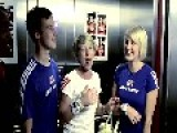David Beckham Surprises Fans At London 2012 Photobooth
