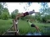 Drunk Tarzan In Russia