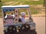 Dad Makes An Ice Cream Truck Halloween Costume For Son Who Uses A Wheelchair