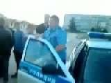 Drunk Bullies Some Russian Traffic Cops
