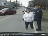 Dumb Fat Lard Can't Recite Alphabet To Police