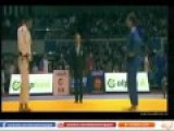 Egyptian Refuses To Shake Hands With Israeli Loser At Judo Match