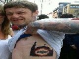 EDL Supporter Reveals His New Tattoo