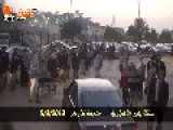 Egyptian Angry Activists Kick Ahmadinejad's Car
