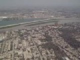 Flying Over Baghdad, Iraq In A Blackhawk Helicopter 2008