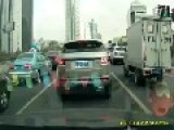 Fast Car Accident China