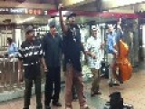 Feel-good Music - In A NY Subway Station