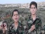 FSA Terrorists Brainwashing Innocent Syrian Kids