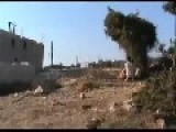 Failed Free Syrian Army Double RPG Attack On Syrian Tank - 06 09