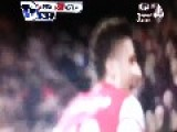 Football Soccer Celebration FAIL ... Arsenal - Giroud