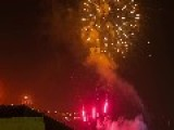 Fireworks Timelapse For New Years Eve At Valparaiso, Chile