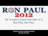 Frank Sinatra Impersonator Says: Ron Paul