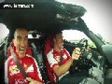 Fernando Alonso Is ASKED To Drive The LaFerrari Slowly!