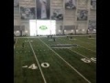 Female NFL Kicker Tryout