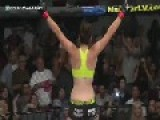 Female MMA Fighter Veronica Rothlenhauser Knockouts Opponent In 5 Seconds